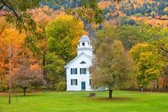 Historic Church In Royalton, Vermont Stock Photos
