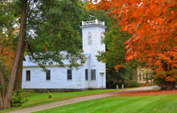 Historic Church In Vermont Stock Image