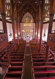 Historic Church Interior Royalty Free Stock Images
