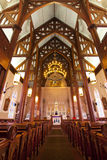 Historic Church Interior Stock Photography