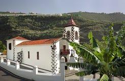 Historic Church at La Palma, Canary Islands. Church Ermita Las Angustias (La Palma, Canary Islands Royalty Free Stock Image