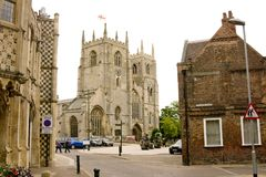 Historic church minster. Stock Images