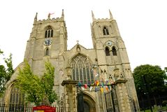 Historic church minster. stock image