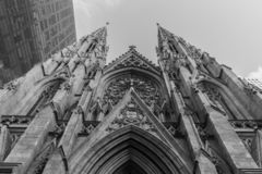St Patricks Cathedral stock photo