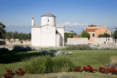 Historic church in Nin, Croatia Royalty Free Stock Images