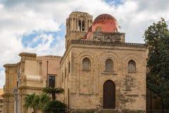 Historic Church Of San Cataldo - Chiesa De San Cataldo - In Pale Royalty Free Stock Photography