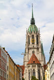 "The historic church ""Paulskirche"" in Munich Stock Photos"