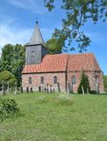 Historic Church,Ruegen island,Baltic Sea,Germany Stock Photo