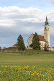Historic church in rural Bavaria, Germany Royalty Free Stock Images