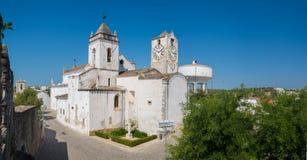 Historic Church of Santa Maria do Castelo- Tavira, Stock Photography