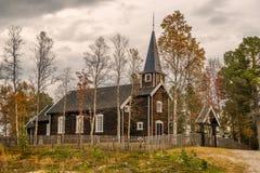 Historic church in Somadal, Hedmark, Norway Royalty Free Stock Image