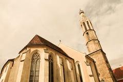 Historic church in Sopron. Hungary, Europe Stock Photo