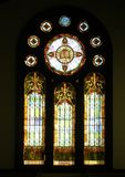 Historic Church Stained Glass Stock Photography