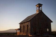 Historic church sunrise Royalty Free Stock Images