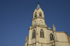 Historic Church in Valparaiso Royalty Free Stock Images