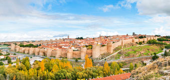 Historic city of Avila, Castilla y Leon, Spain Royalty Free Stock Photo