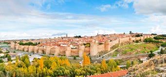 Historic city of Avila, Castilla y Leon, Spain Royalty Free Stock Photo