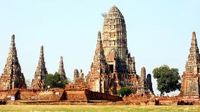 Historic City of Ayutthaya in Thailand Royalty Free Stock Images