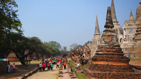 Historic City of Ayutthaya in Thailand Royalty Free Stock Image