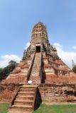 Historic City of Ayutthaya - Wat Chai Wattanaram Royalty Free Stock Image