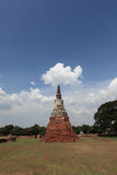 Historic City of Ayutthaya - Wat Chai Wattanaram Royalty Free Stock Photo