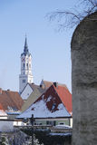 Historic City in Bavaria Royalty Free Stock Photography