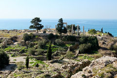Historic city of Byblos in Lebanon Stock Photo