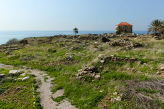 Historic city of Byblos in Lebanon Royalty Free Stock Photography