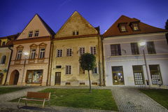 Historic city center of Bardejov Stock Images