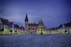 Historic city center of Bardejov Royalty Free Stock Images