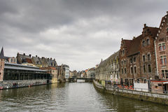 Historic city center, Gent Royalty Free Stock Photography