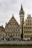 Historic city center, Gent Stock Photography