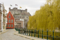 Historic city center, Gent Royalty Free Stock Photos