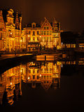 Historic city center of Ghent, Belgium Royalty Free Stock Photography