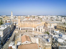 Historic city center of Lecce, Puglia, Italy Royalty Free Stock Photography