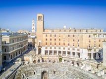 Historic city center of Lecce, Puglia, Italy Stock Image
