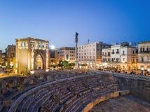 Historic city center of Lecce, Puglia, Italy Royalty Free Stock Photo