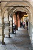 The historic city center of Mantua. Stock Photo