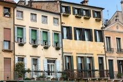 The historic city center of Mantua. Italy Royalty Free Stock Photo