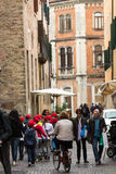 The historic city center of Padua. Royalty Free Stock Photography