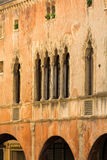 The historic city center of Padua. Stock Images