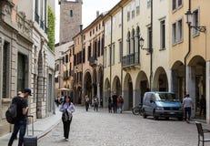 The historic city center of Padua. Italy Royalty Free Stock Photos