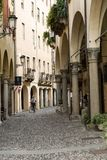 The historic city center of Padua. Italy Royalty Free Stock Images