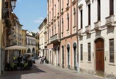 The historic city center of Padua. Italy Royalty Free Stock Image