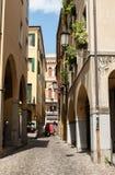 The historic city center of Padua. Italy Stock Image