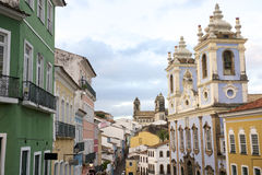 Historic City Center of Pelourinho Salvador Brazil Royalty Free Stock Photography