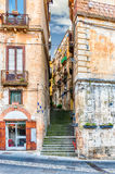 Historic city centre of Cosenza, Calabria, Italy Stock Images