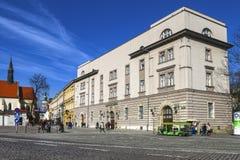 Historic city centre of Krakow. Grodzka street, Krakow, Poland. Royalty Free Stock Photography