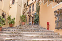 The historic city of Chania. stock photography