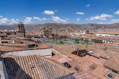 The Historic City of Cusco, Peru Royalty Free Stock Photos
